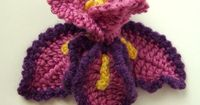 Crochet Iris Flower Pattern PDF - wow