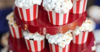 How to Make Popcorn {looking} Cupcakes by Tikkido! Fun for a Movie night!