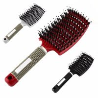 �Ÿ˜�4 Color Women Hair Scalp Massage Comb Bristle Nylon Hairbrush Wet Curly Detangle Hair Brush for Salon Hairdressing Styling Tools�Ÿ˜� $8.97