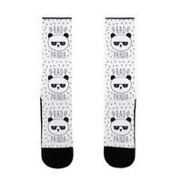 Rad Panda US Size 7-13 Socks $16.99 �œ� Handcrafted in USA! �œ� Support American Artisans