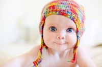 What a beautiful baby!