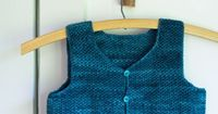Whit's Knits: Classic Crocheted Vest for Little Kids