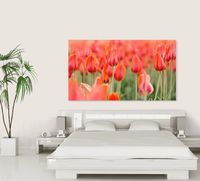 Mother's Day Gift Idea! Make a DIY print of red tulips in a field! Full size digital JPEG file for instant download, print & frame at home! $12.99