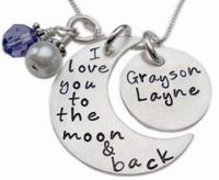 I love you to the moon and back. Gracyn Layne and her mother would love this.