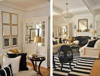 Featured Home: Black, White and Gold Themed Décor | BetterDecoratingBible