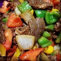 """Chinese Pepper Steak 