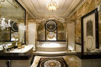 Extreme Bathrooms - Do you feel like royalty in this loo?