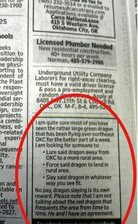 No pay, dragon slaying is it's own reward.