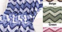 Free Harmony Ripple Afghan Crochet Pattern
