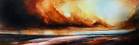 Large, unique, abstract expressionism 'The Plains' by award-winning artist, Simon Kenny $7920.00