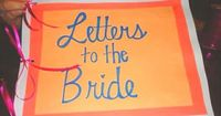 The maid of honor could put this together. Have the mother of the bride, mother in law, bridesmaids, and friends of the bride write letters to the bride, then put them in a book so she can read them while getting ready the day of. The last page can be a l...