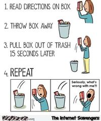 Following directions on a box humor #humor #funny #lol #PMSLweb
