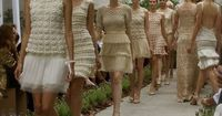 Wow, an entire Fashion Show of Crochet Dresses! CROCHET AND KNIT INSPIRATION: http://pinterest.com/gigibrazil/crochet-and-knitting-lovers/ .