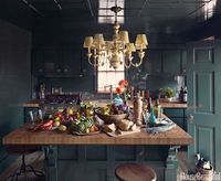 "Olive Green ""Olive greens will be popular in 2015�€""I just did a kitchen with olive cabinets and it looks wonderful. The shade is warm, org..."