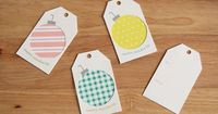 Please Note: Free Printable Gift Tags!