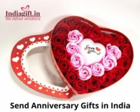 Send Anniversary Gifts in India.jpg  order online anniversary gifts in India through Indiagift - https://www.indiagift.in/roses-in-heart-shape-box-ig-3086