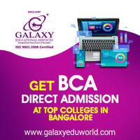 List of Best BCA colleges in Bangalore - Know more about direct admission in BCA specializations, fees structure, ranking and rating of colleges, Admission process, Eligibility, cut off Details, Comparison of colleges, Placements and student reviews ....m...