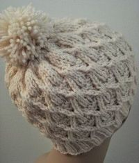 Wickerwork Hat | AllFreeKnitting.com