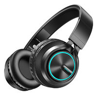 Picun B6 Foldable Wireless Bluetooth Headphone Stereo 3.5mm TF Card Gaming Headset Earphone With Mic