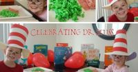 A bunch of great ideas for Dr. Suess' Birthday