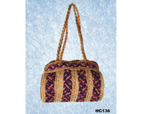 This beautiful stylist hand made Jute bag from natural Jute. You can use to carry regular basis.
