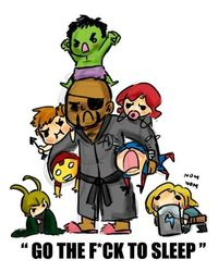 baby avengers funny-words-mostly