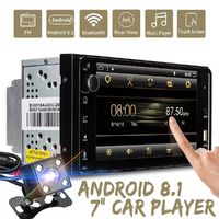 T3 7 Inch 8 Core for Android 8.1 Car MP5 Player 2G+32G 2DIN Stereo WIFI bluetooth RDS with Carema For Toyota