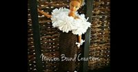 How to Loom Knit a Doll Dress - EASY- flower loom