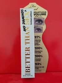 �Ÿ'‹�Ÿ'� TOO FACED Better Than Sex & Diamonds Mascara �� LIMITED EDITION �� Authentic $24.95 �Ÿ'‹�Ÿ'�