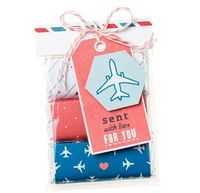 Sent with Love treat bag - perfect travel gift idea for kid treats on flights