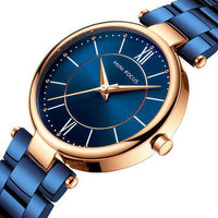 MINI FOCUS MF0189L Fashionable Women Wrist Watch Stainless Steel Waterproof Quartz Watch