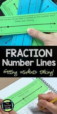 Learning how to navigate fractions can be tricky--and many students struggle to place fractions on a number line. Check out this post for ideas on fraction math