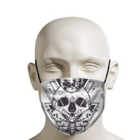 Skull and Moth - Face Mask $14.95
