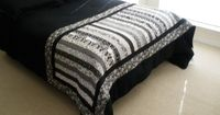 Quilted Bed Runner/Table Runner by LynnsCozyQuilts on Etsy, $125.00