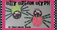 Spider Glyph Craftivity-Adorable!!