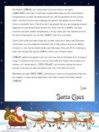 2019 PERSONALIZED LETTERS FROM SANTA - Santa With Sleigh - $8.00 PER LETTER  https://www.letterfromsantasshop.com