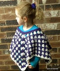 Swirls and Sprinkles: Granny Stitch Poncho
