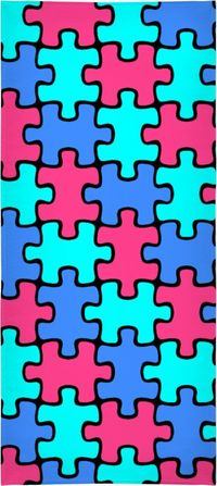 Puzzling Beach Towel $50.00