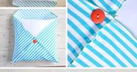 Save yourself some money and spruce up your living room with this DIY pillowcase.
