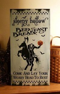 �™� Sleep hollow B come and lay your weary head to rest .. yesh!