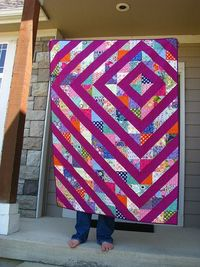 grumpystitches: Julia's Quilt 1 by i don't do dishes�€� on Flickr.