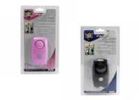 His & Hers Streetwise Panic Alarms Black & Pink $13.45