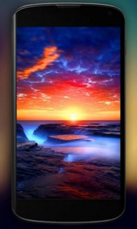 HD Live Wallpaper https://bit.ly/2PGlpfs Watch a beautiful ocean at sunset with sunny golden waves flowing back and forth on an exotic beach, with gentle oceanic waves.  Admire those amazing gentle waves flowing on that exotic beach look at that beaut...
