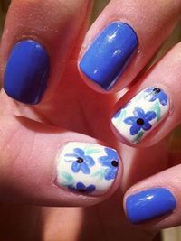 Nail Designs and Pictures - Creative Celebrity Nail Polish Designs - Seventeen
