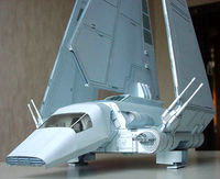 Space Shuttle Imperial, papercraft, DIY, imperial shuttle, Star Wars, Darth Vader, papermodel, PDF, ship imperial, pdf papercraft, $13.95