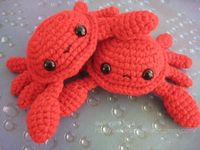Crab Amigurumi Crochet Pattern PDF by AwkwardSoul on Etsy