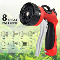 Garden High Pressure Water Gun Adjustable Lawn Sprinkler Car Washing Irrigation Nozzles Sprays
