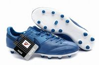 Nike The Premier FG Leather Soccer Cleats 2015 Blue White