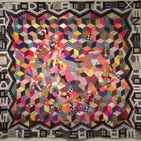 I � quilting . . . Lovely day at #mca