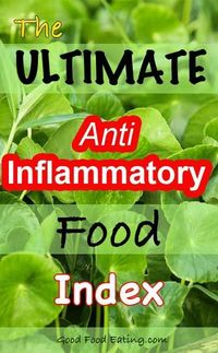 A great reference list to help reduce inflammation PLUS grab it in a free guide with 3-day meal plan